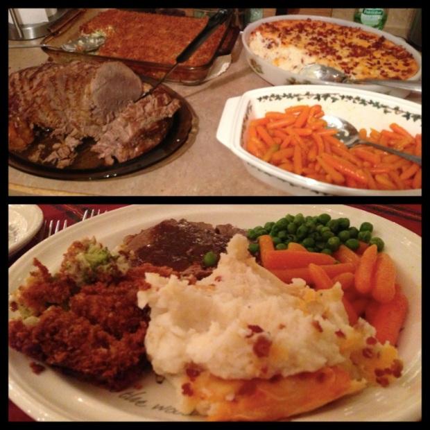 Dinner at Aunt Marguerites