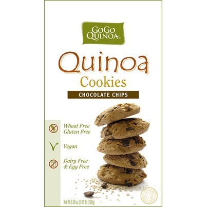 Go Go Quinoa Chocolate Chip Cookies