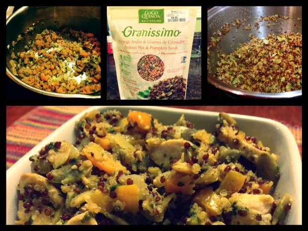 Andean Mix & Pumpkin Seeds Recipe1